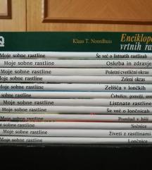 Rastline / vrt - zbirka knjig / partizanske knjige