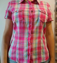 Karirasta srajčna bluza