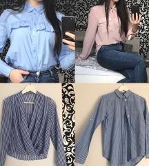 Zara,H&M srajčke
