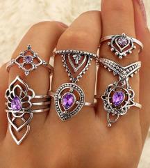 Komplet prstanov - novo