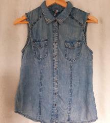 Jeans majica z neti