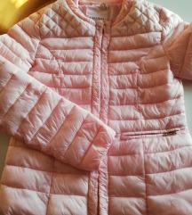 Baby roza prehodna bundica