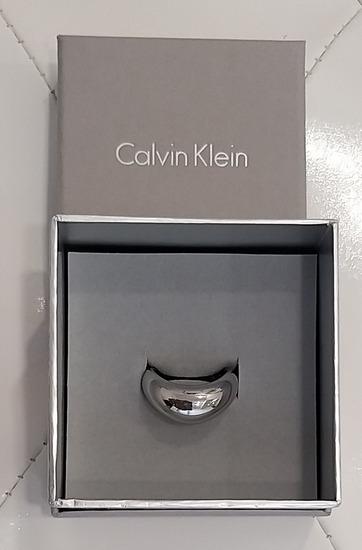CALVIN KLEIN, PRSTAN, ORIG., STAL JE 80€