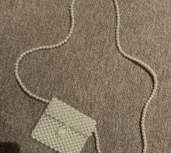 Mini torbica s perlami