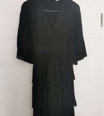 Nova nenošena Zara svetleča obleka S