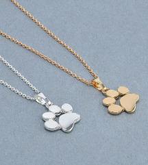 Ogrlici zlata in srebrna
