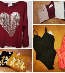 Oblačila M in L: znižano