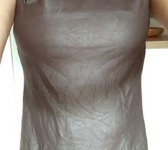 Oblekica HADDAD, tekstilno usnje-UGODNO