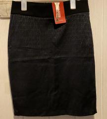 Črno pencil krilo-Novo z etiketo