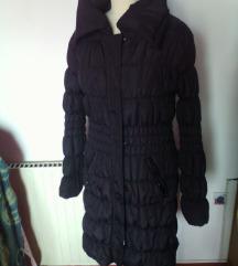 zimska bunda prešita,dolga topla,L