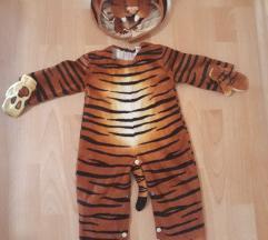 Kostum tigerček št.6-9mesecev