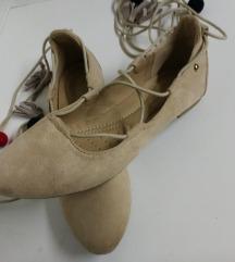 usnjene balerinke