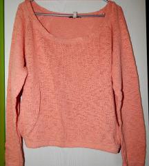 Roza-marelični pulover Zara