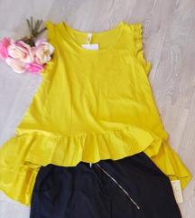 Tunika-majčka rumena, uni
