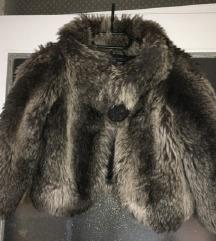 ZARA krznena jakna