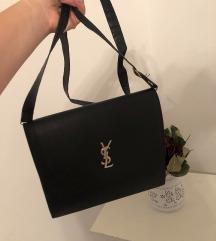 YSL črna torbica