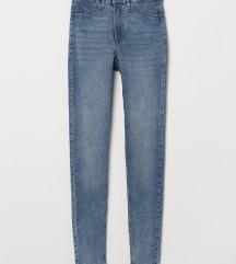 NOVE!! Skinny High Jeans H&M