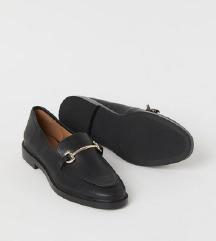 NOVI H&M črni mokasini