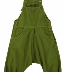 Otroške hlače haremke z naramnicami  dve velikosti