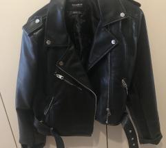 Leder jakna pull&bear