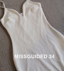 Missguided bela mini obleka