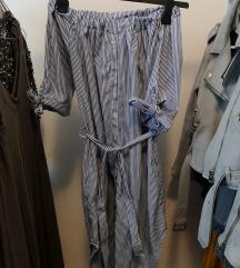 Poletna oblekica brez naramnic