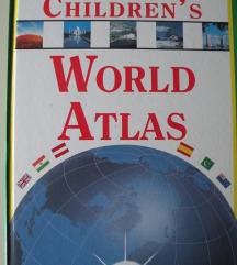 TURISTIKA - ATLAS ■A4format ■Childrens World Atlas
