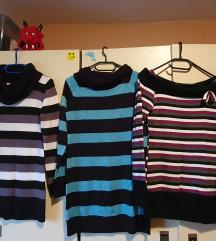 6 puloverjev; 4 eur kom