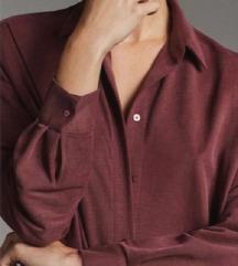 Massimo Dutti srajčna obleka