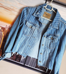 Cropped jeans jakna