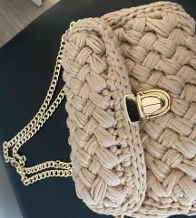 handmade torbica znizana