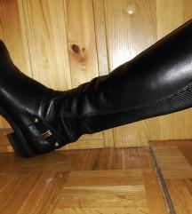 Crni usnjeni skornji