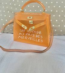 Jelly bag Hermes inspired