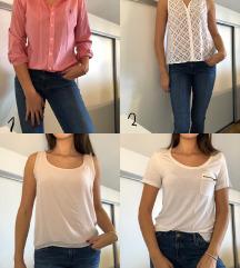 ODPRODAJA UGODNO srajcke, topki, bluze