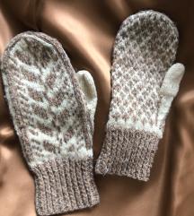 Retro volnene rokavice