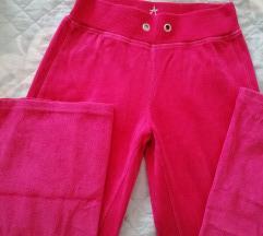 Žametne športne hlače