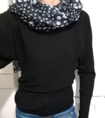 črn pulover zara S   NOVO