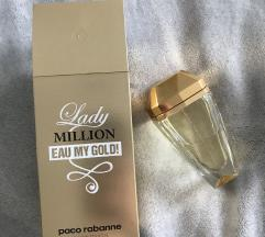 ZNIŽANO! Lady million - eau my gold - 80ml