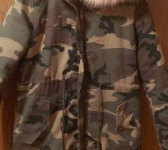 Zimska bunda...zeeeelo topla