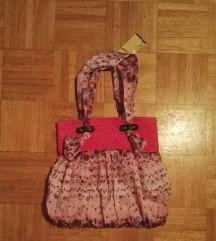 Poletna roza torbica