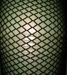 Mrežaste hlačne nogavice, M, L