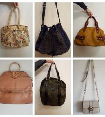 Zelo malo rabljene torbice