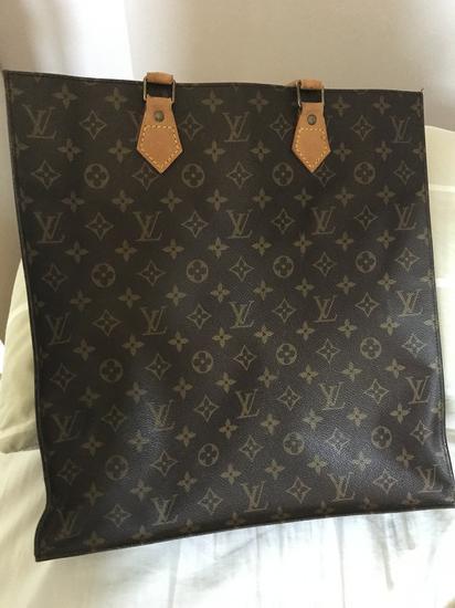 Louis Vuitton Sac Plat tote bag