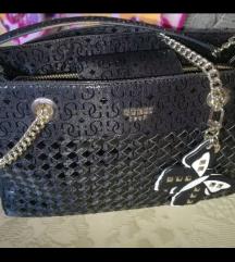 Guess crna torbica original - ZNIZANA CENA!!!