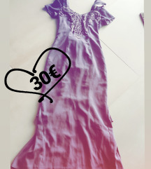 VINTAGE svecana obleka vijolicna