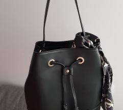 Usnjena crna torbica