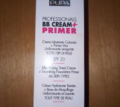 PUPA BB cream + primer spf 20, 01 nude