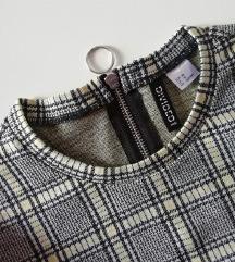 H&M karo obleka /NOVA