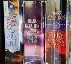 Outlander serja knjig 3, 4, 5