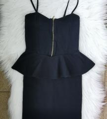 Črna kratka obleka